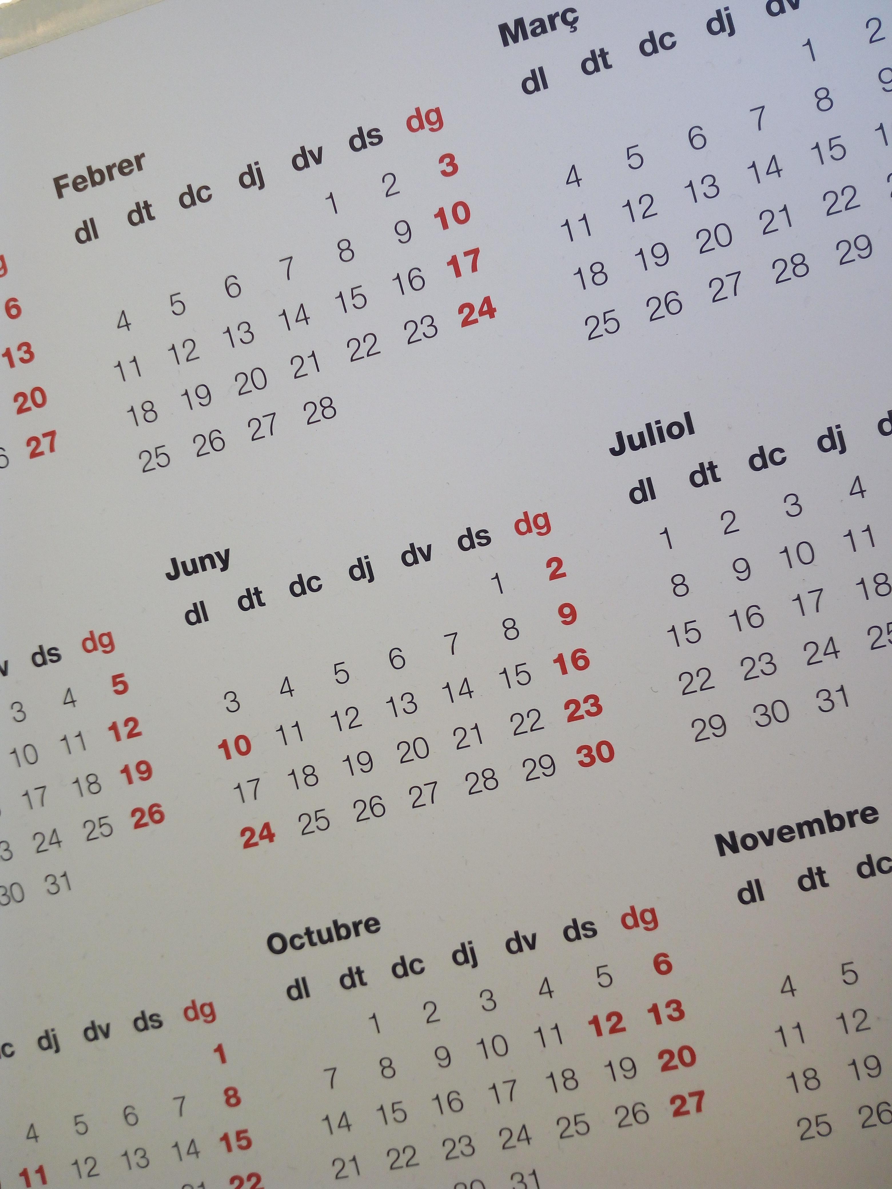 Calendario Laboral Barcelona 2020.Fiestas Laborales 2020 Gremi De Calefaccio